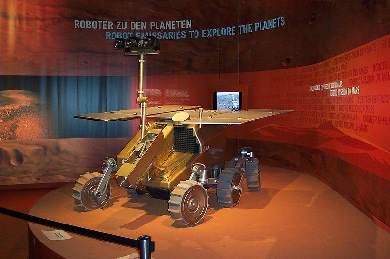 ExoMars der ESA auf der ILA 2006 (Berlin)