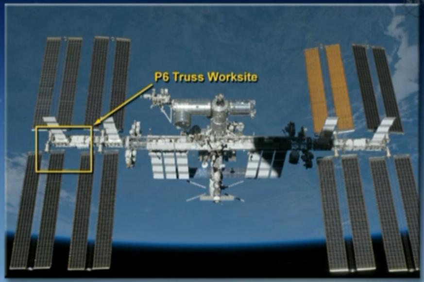 Defekt an der ISS