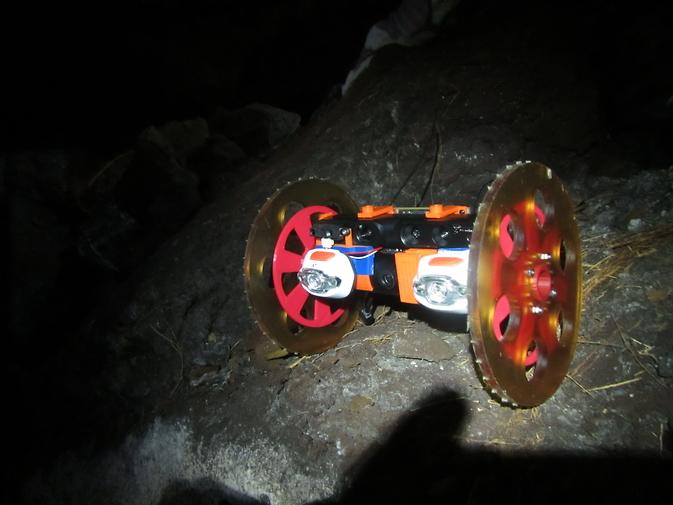 VolcanoBot 1, Bild: NASA/JPL-Caltech