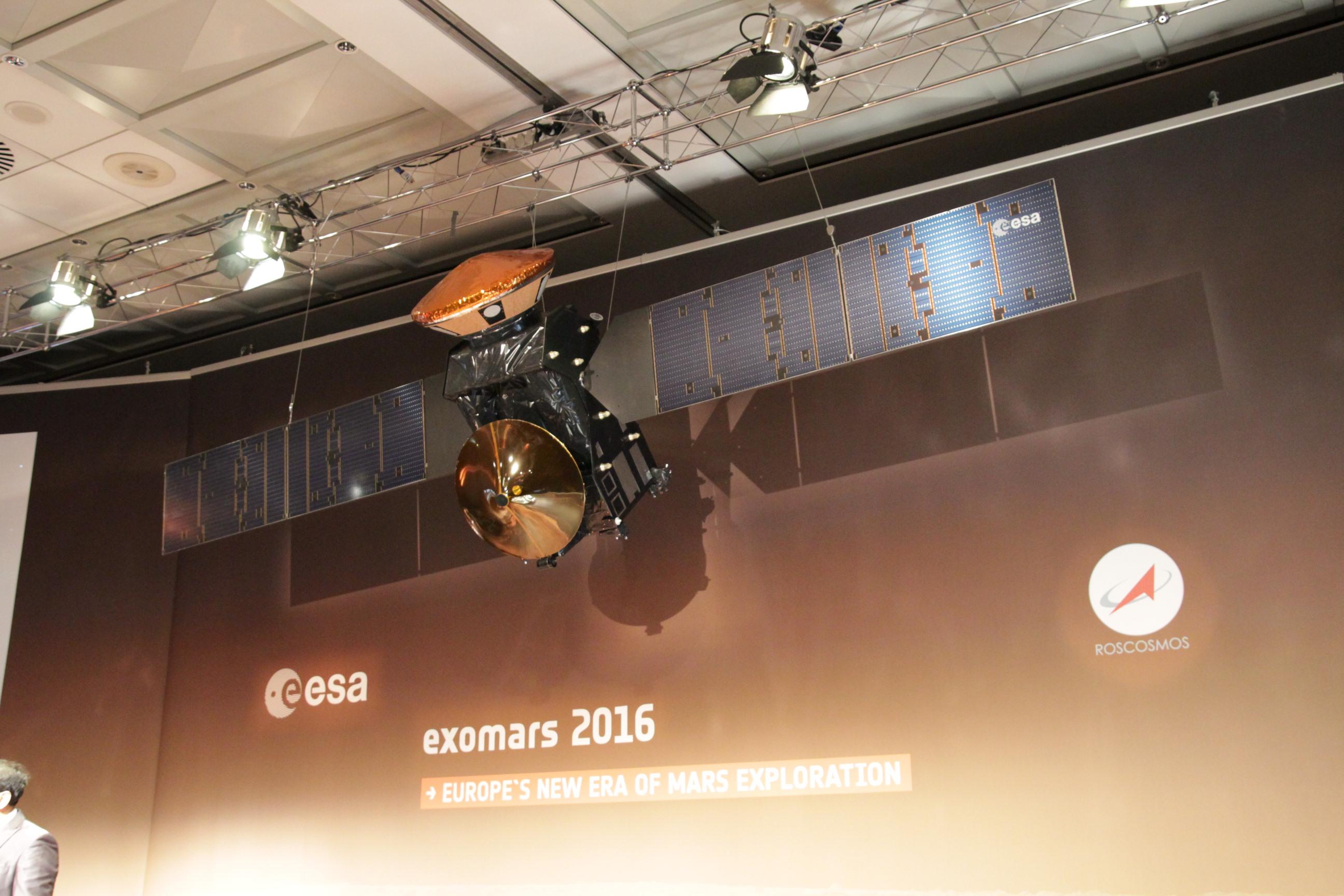ExoMars: Trace Gas Orbiter (TGO) Modell