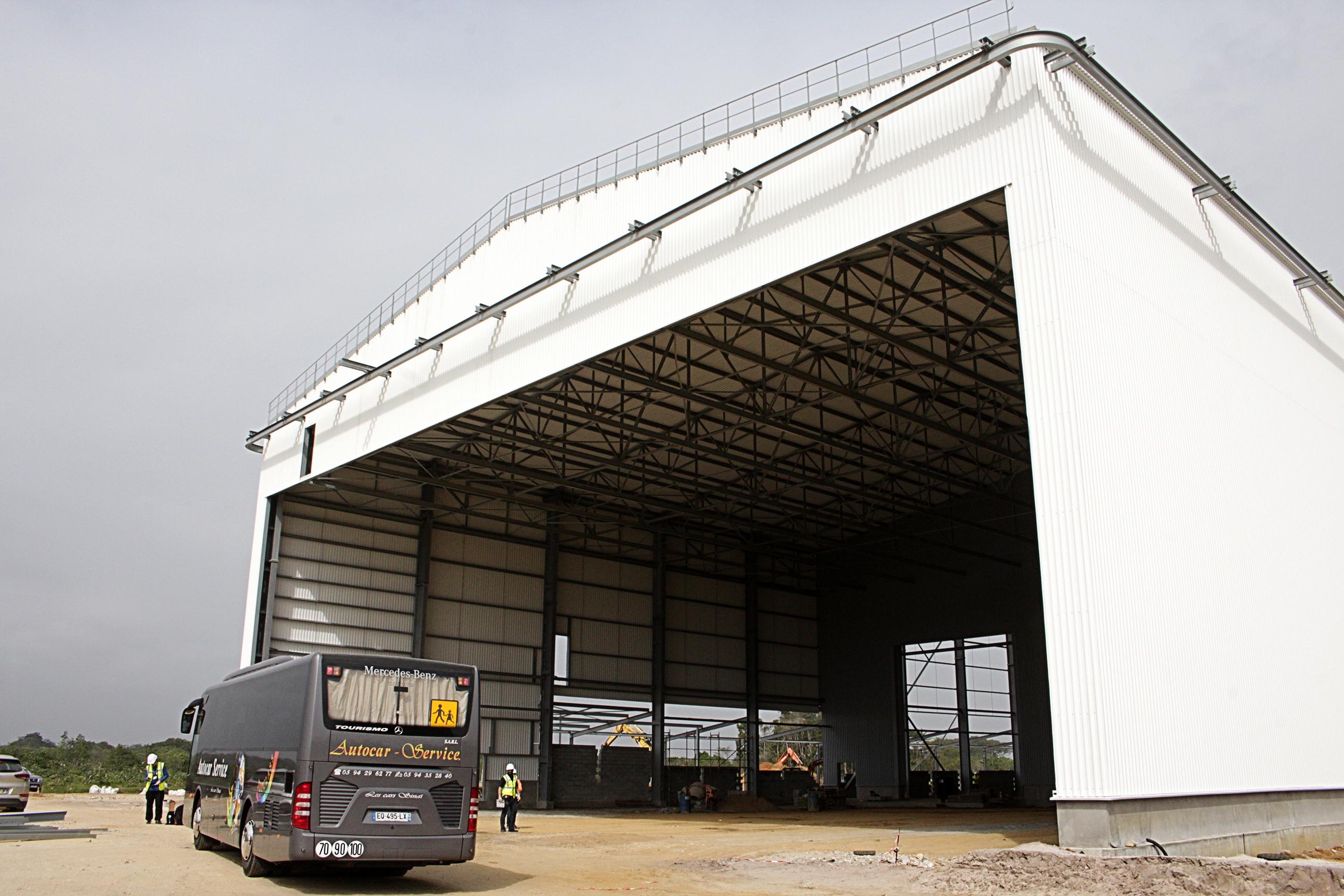 CSG Kourou, ELA-4, Bâtiment d'assemblage de lanceurs, BAL. Foto: Ute Gerhardt