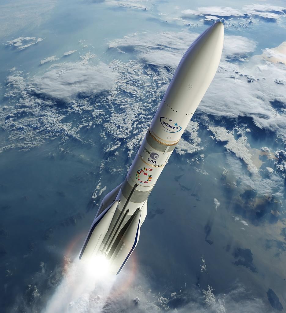 Ariane 6, © ESA/DUCROS David, 2017