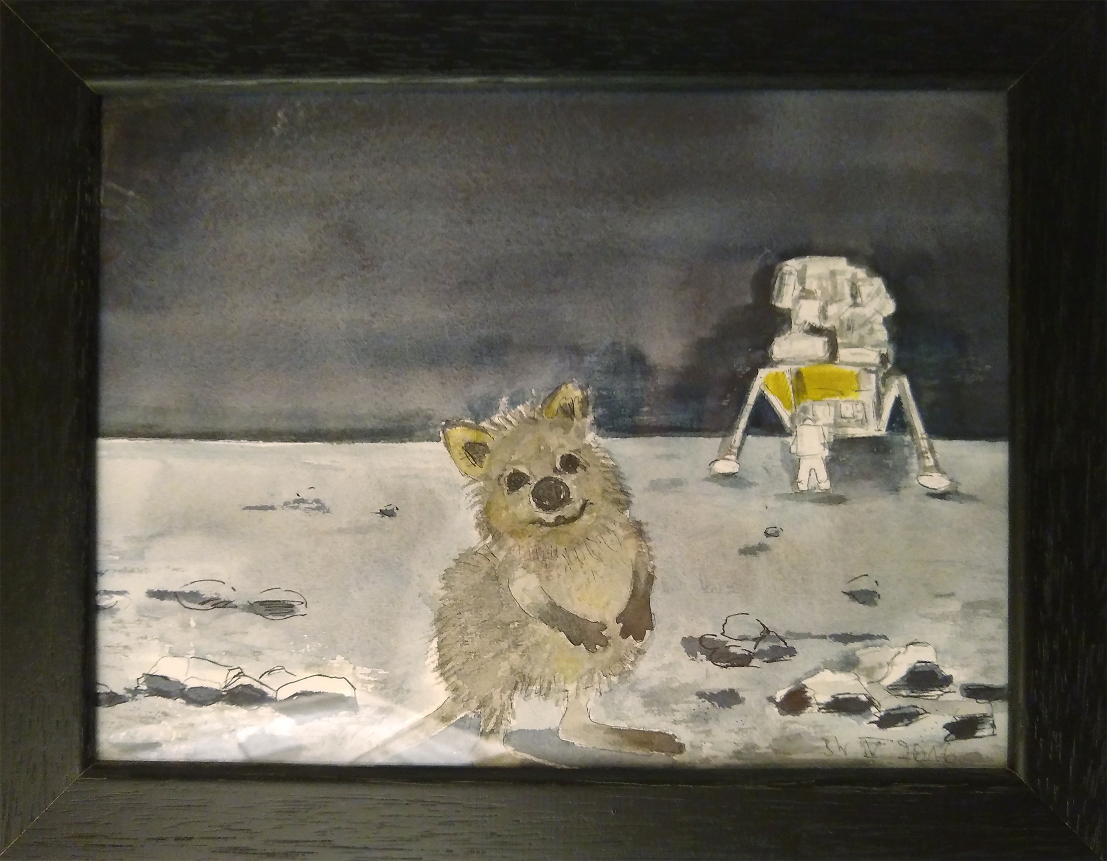 """Space Quokka"". Bettina Wurche, 2016"