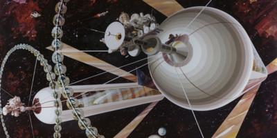 Raumkolonie. Bild: NASA