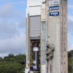 Teststand des P120C. Copyright: ESA